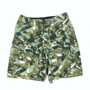 "PATAGONIA Drawstring Camouflage 9"" Board Shorts"